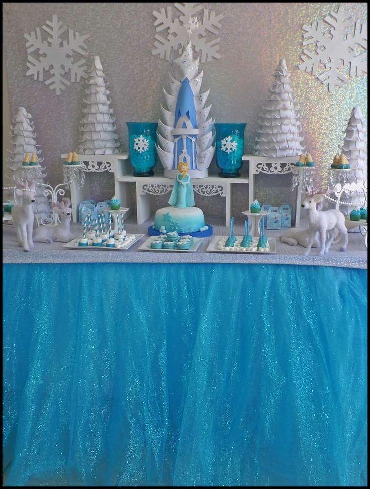 Best 25 Frozen Table Decorations Ideas On Pinterest