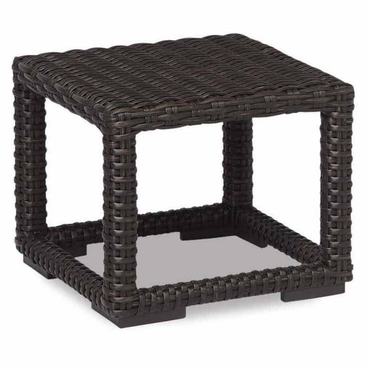 Outdoor Sunset West Cardiff Wicker Patio End Table - 2901-ET