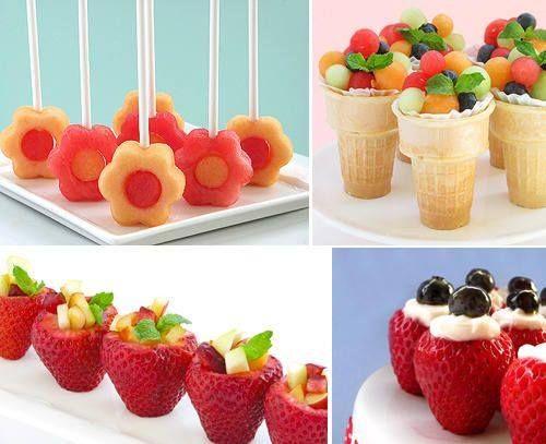 Entremeses de frutas