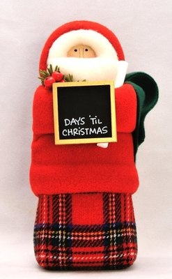"""Hearts and Ivy Collection 2012 9"""" Jacket Santa Red Stewart Days Till Christmas 