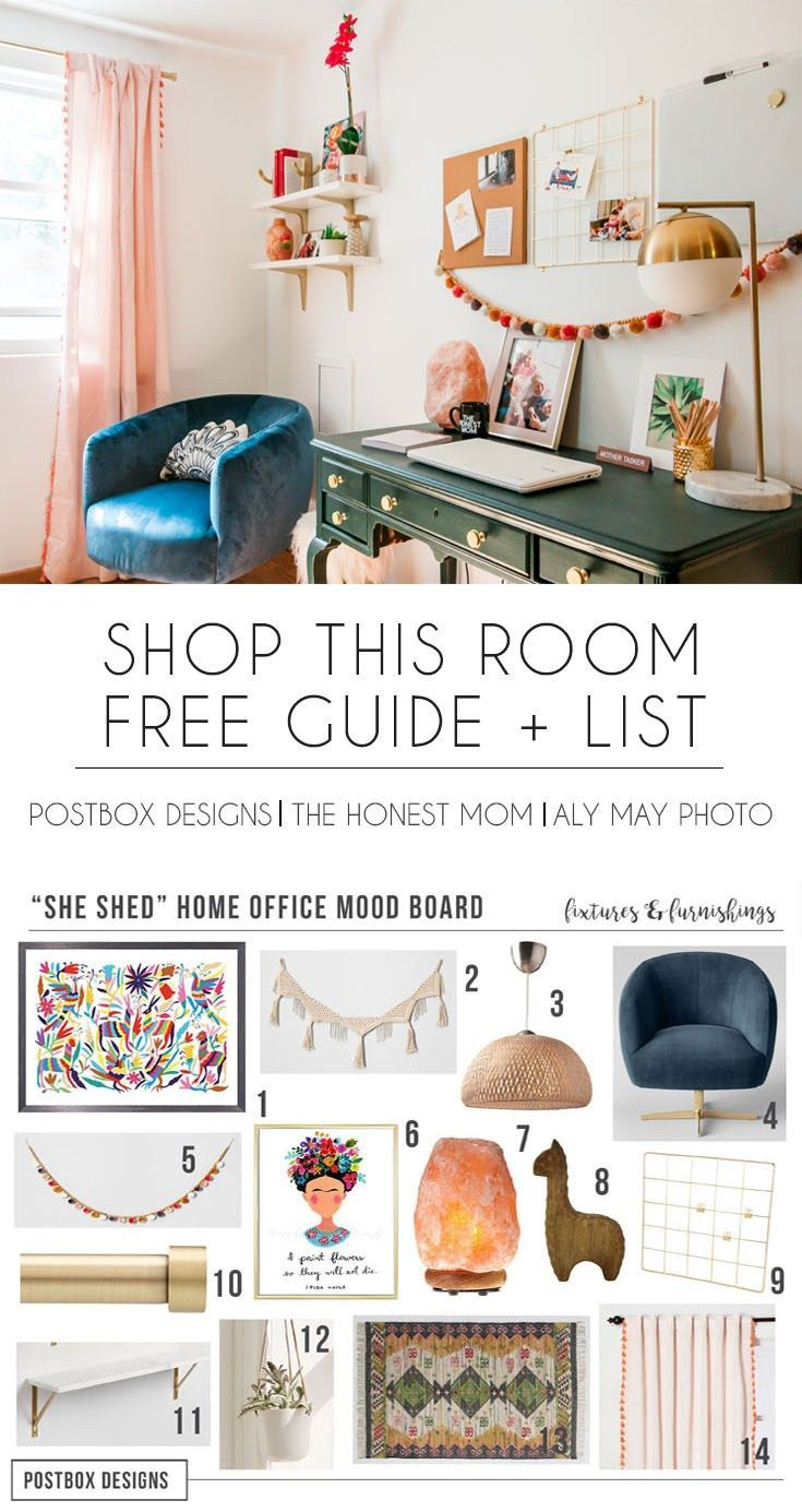 Free Boho Home Office Postbox Designs Online Interior Design