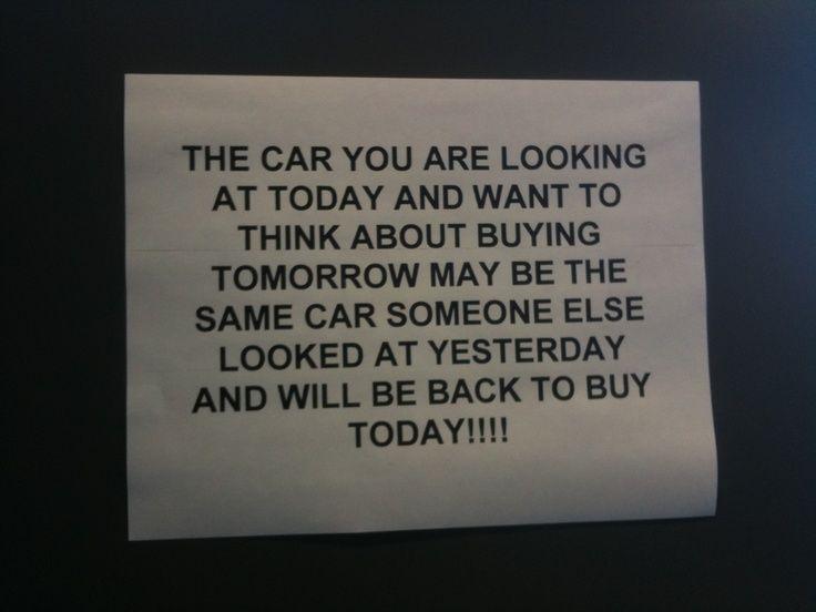 15 best Car Salesman Humor images on Pinterest