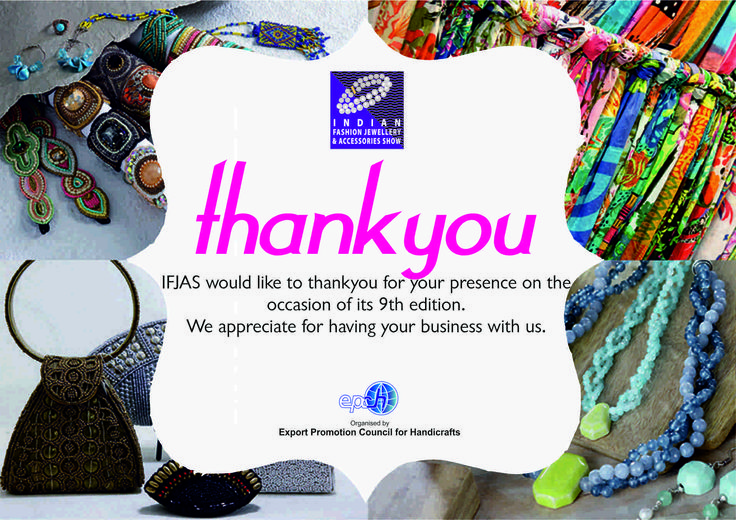 Thank you for making The IFJAS, 2016 a huge success!! #ifjas #tradeshow