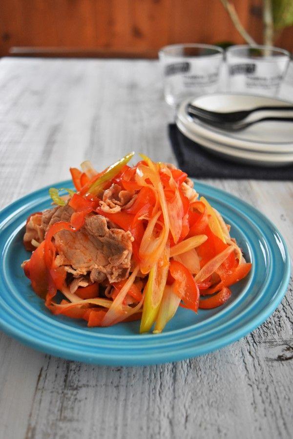 豚肉のピリ辛中華風マリネ