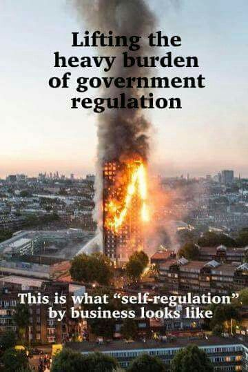 Grenfell Towers - what happens when government defers to privatization and profit