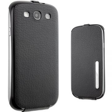 Husa Anymode Flap Albastra Samsung Galaxy S3