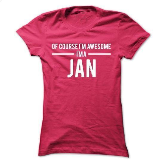 Team Jan - Limited Edition - #grey shirt #university sweatshirt. PURCHASE NOW => https://www.sunfrog.com/Names/Team-Jan--Limited-Edition-btlzawdnzl-Ladies.html?68278