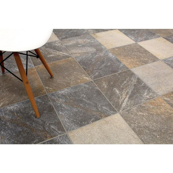 Napoles Gris Porcelain Tile - 13in. x 13in. - 100190172 | Floor and Decor