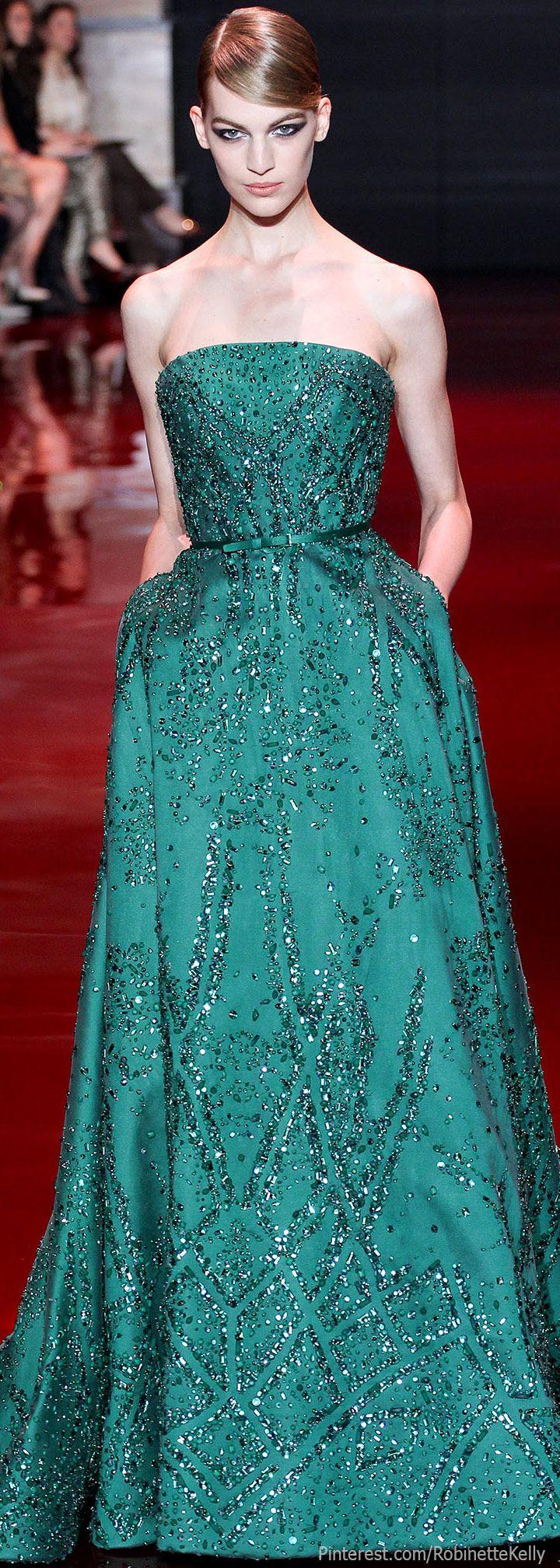 252 best Elie Saab ❤ images on Pinterest | High fashion, Dream ...