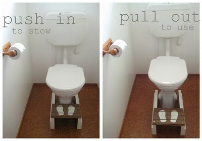 toilet-training stool - banco para ir al baño This mom is great!!!