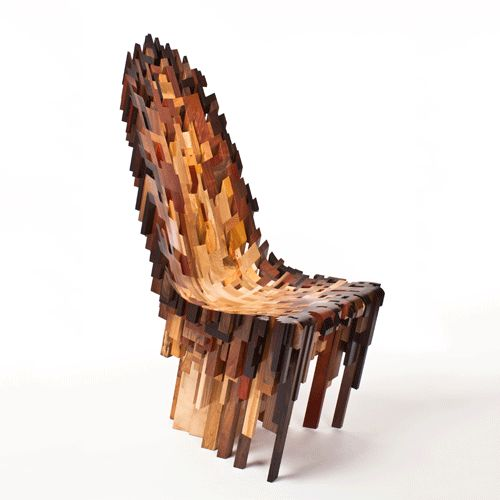 Around the World in 80 Chairs: Roccapina V Chair by the Yard Sale Project,  London