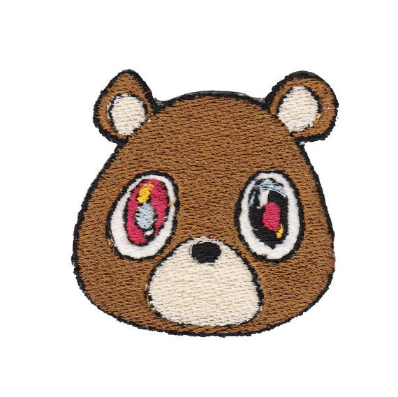 Kanye West Bear Patch FREE SHIPPING By MiniandVan On Etsy