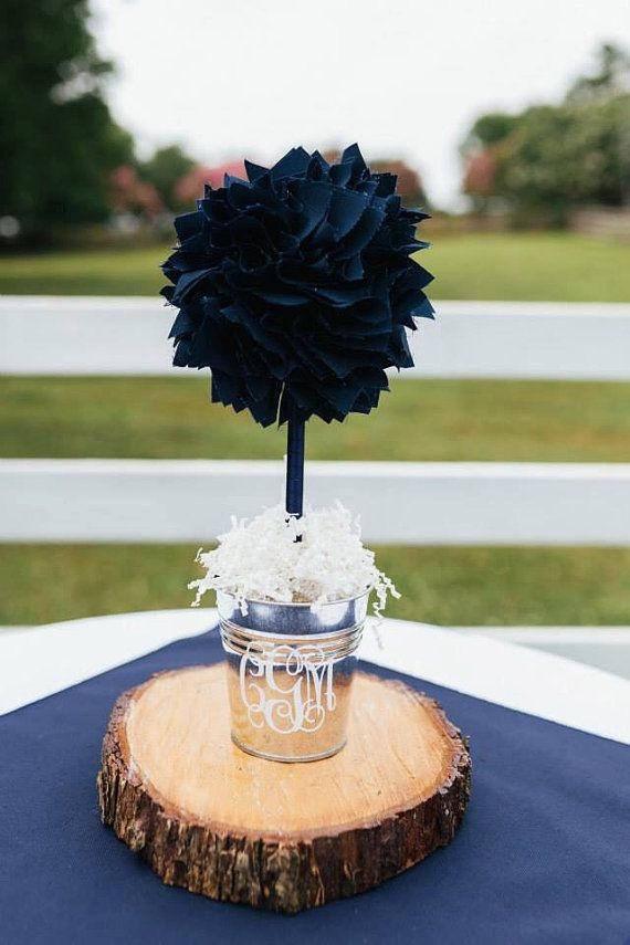 Ideas about blue centerpieces on pinterest navy