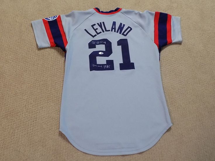 3a27fd15b1f 96bc2 974cc  release date jim leyland game worn signed jersey chicago white  sox pirates tigers 1966 baltimore orioles