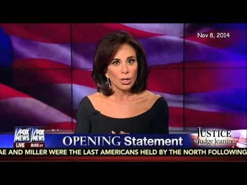 ▶ Election 2014: Judge Jeanine Pirro Spikes the Ball !... GREAT DELIVERY JUDGE JEANINE!... NOV 8 2014