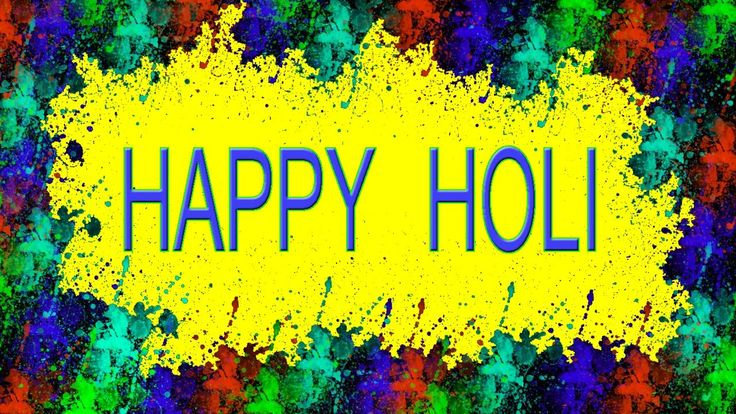 How to create an Animated Holi Greeting Card in Photoshop