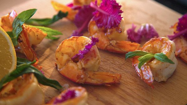 How to make Perfect Butterflied Prawns