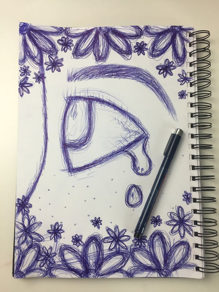 Mit Bleistift sieht es nicht so schön aus wie mit…