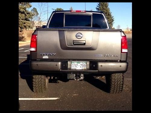 Used Nissan Titan Trucks, Vans or SUVs with Gray color