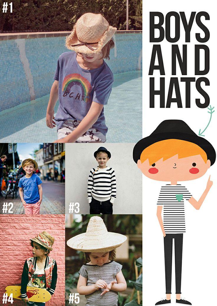 Boys and hats | Look and drawing at APANONABLOG