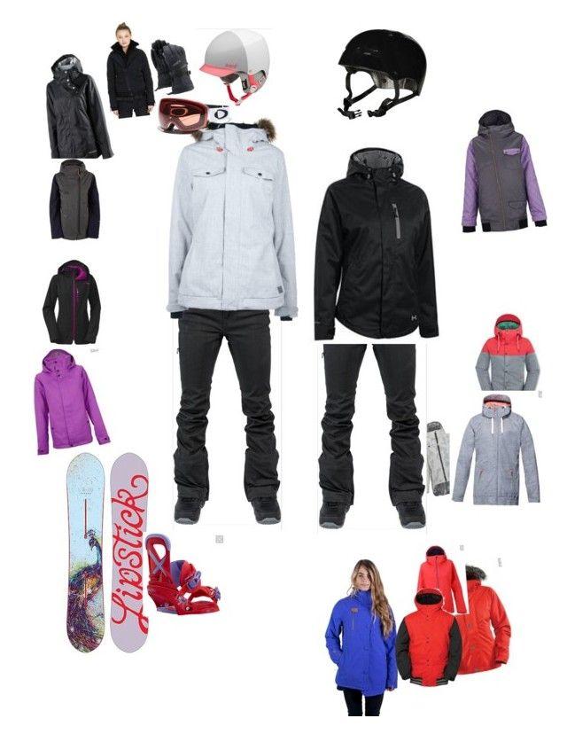 """Snowboard"" by elulu2 on Polyvore featuring Globe, 686, Burton and Oakley"