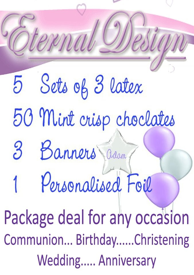Inverclyde - Free Giveaway Competition - Eternal Design Party Package worth £40
