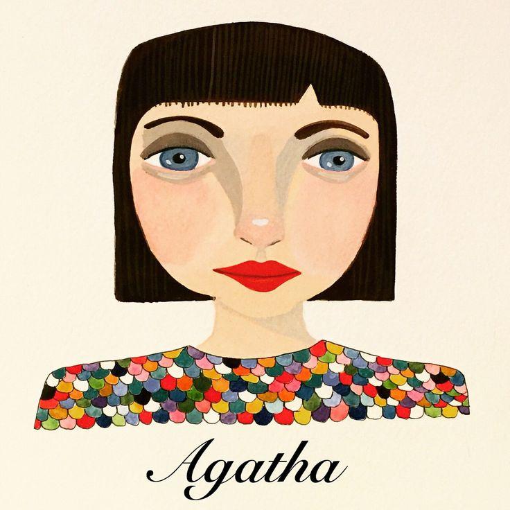 Agatha.