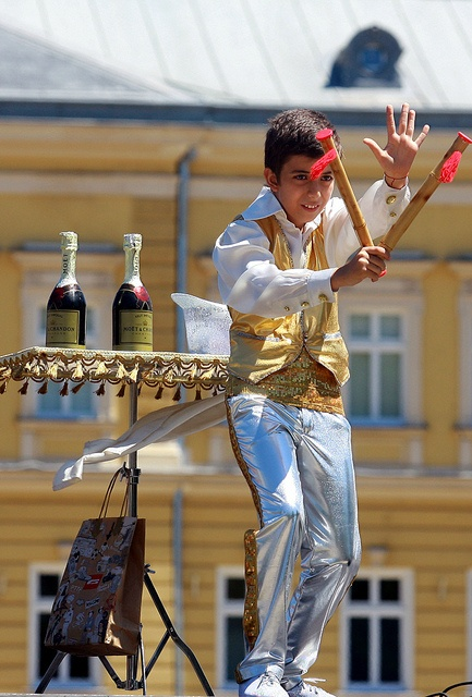 A boy performs during a multicultural festival in Sofia, Bulgaria, organised on the occasion of World Refugee Day 2012. © UNHCR/ B.Kichukov
