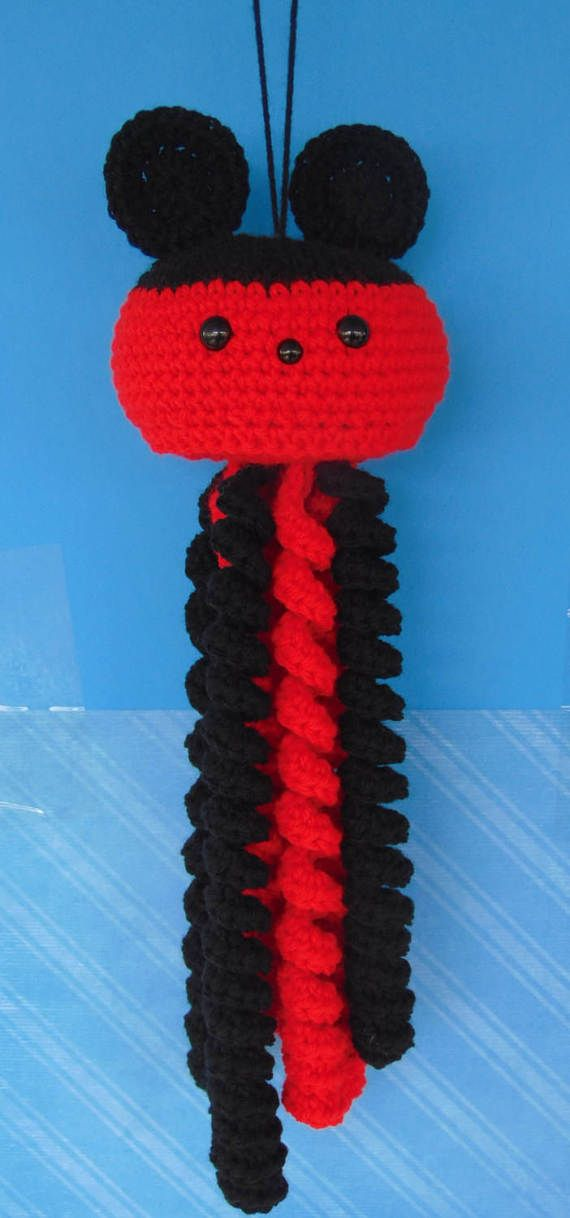 SALE, SALE! Adorable Handmade Crocheted Jellyfish! Perfect Gift or Perfect Addition to any Collections!!