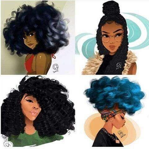 Natural Hair Fashion Pinterest