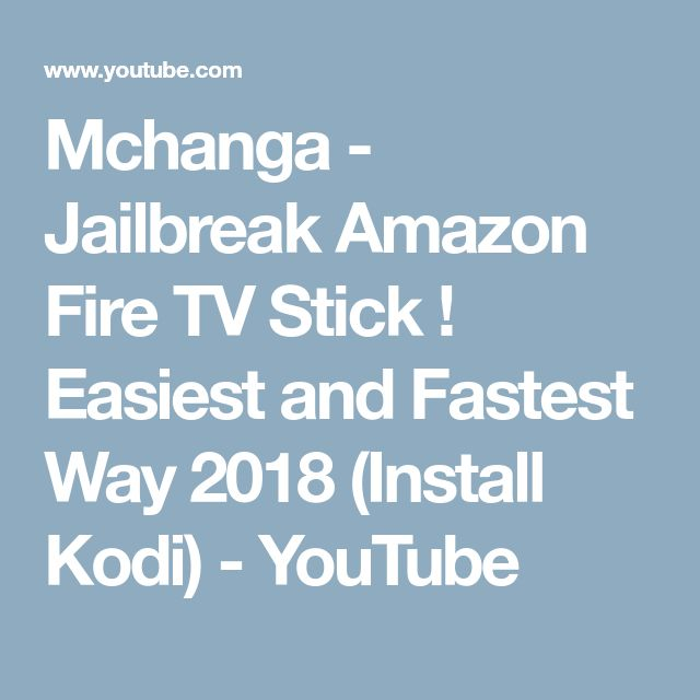 best amazon fire tv jailbreak