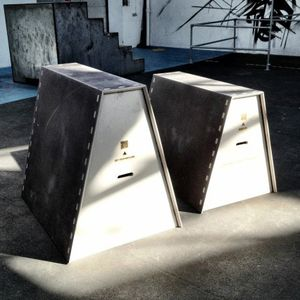 Vault Boxes for Parkour. Designed for Street Movement