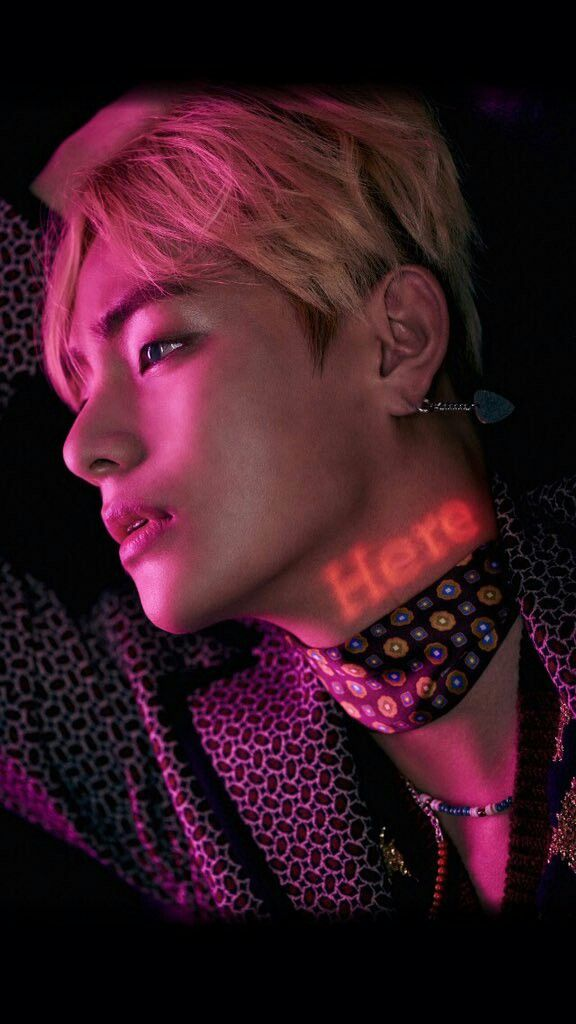 V bts- blood sweat tears photoshoot