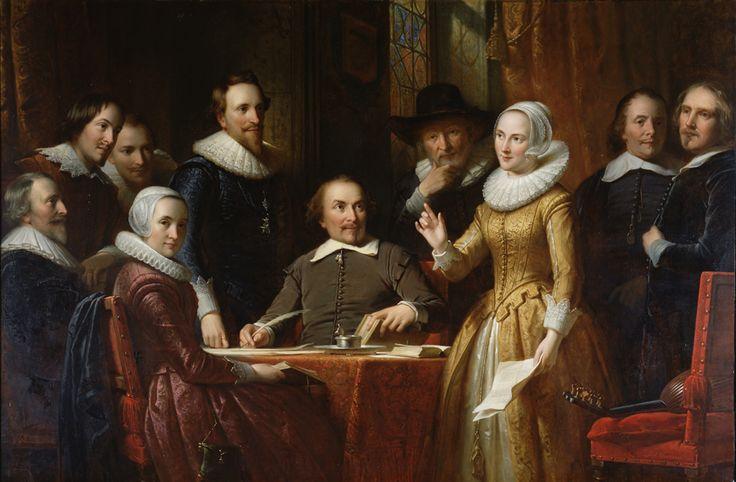 Dit is een schilderij van de Muiderkring.