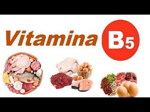 Vitamina B5 - Benéfica  para pertubações mentais estresse e ansiedade