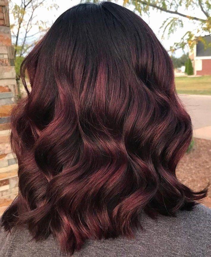 Burgundy Red Hair Color Di 2020