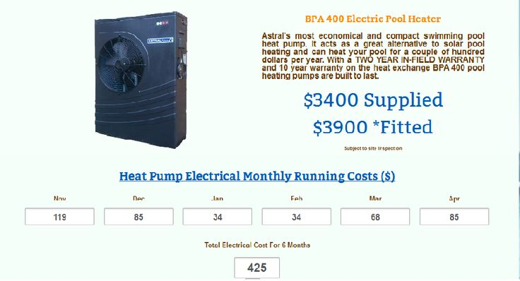 Pool Heating Calculator can estimate the size and type of heating suited to you pool quick and easy to use Perth Climate only. This is firstly developed by Pools Plus Solar from Australia.It calculate pool heating accurately and efficiently. http://www.scribd.com/doc/194974098/Perth%E2%80%99s-First-Accurate-Pool-Heating-Calculator-by-Pools-Plus-Solar-from-Australia