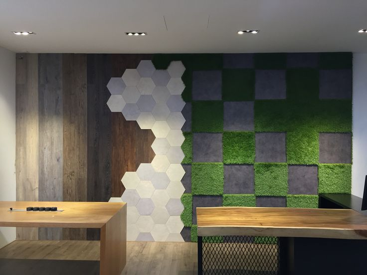 The New Officeworks Johor Jaya Feature Wall Made Up Of