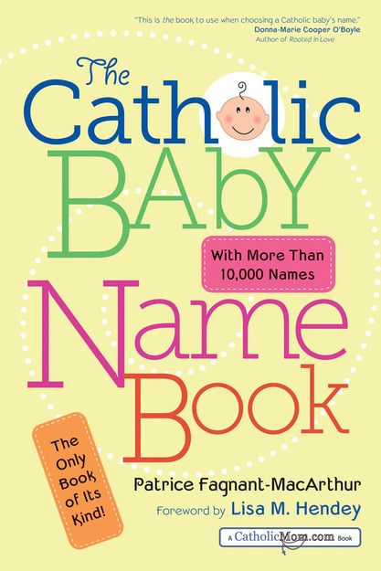 With more than ten thousand names of saints and biblical figures, this first-ever guide to Catholic baby names helps expectant parents find a beautiful and creative name for their child. Each entry includes the meaning of the name, language of origin, variations in form, a capsule biography, and relevant feast days and patron saint information.