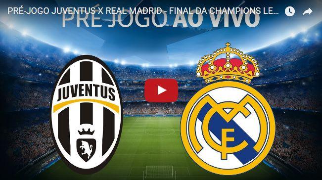 JUVENTUS X REAL MADRID - FINAL DA CHAMPIONS LEAGUE AO VIVO - TV Canal Mania