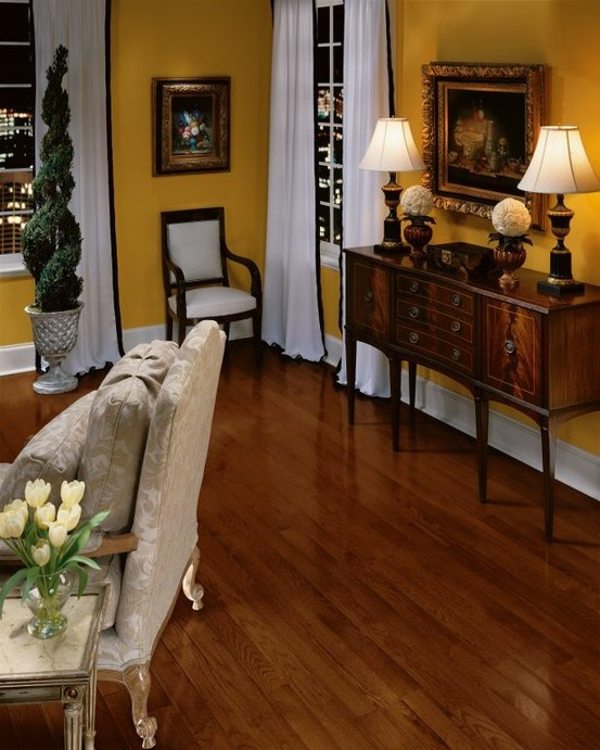 Cherry Hardwood Floors By Armstrong