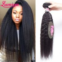 7A Mink Brazilian Virgin Hair Kinky Straight Hair Weave 1 Bundles Remy Human Hair Extensions Kinky Straight Weave