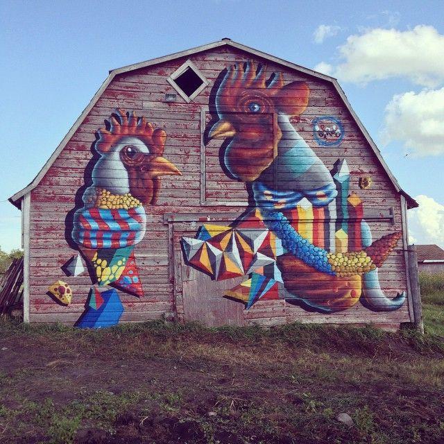Best Street Art Images On Pinterest Street Art Art Art And - Beautiful giant murals greek gods pichi avo