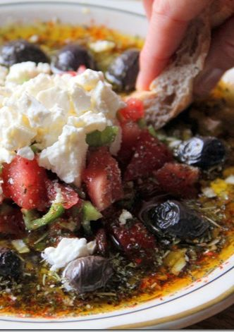 Olive Oil Bread dip that sounds to DIE FOR