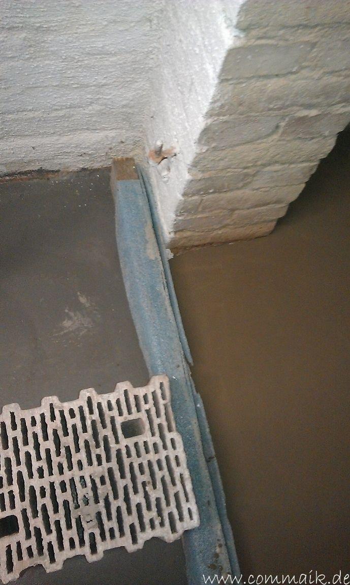 Im Keller Wird Eine Toilette Mit Trockenbau Realisiert Im Keller Trockenbau Keller