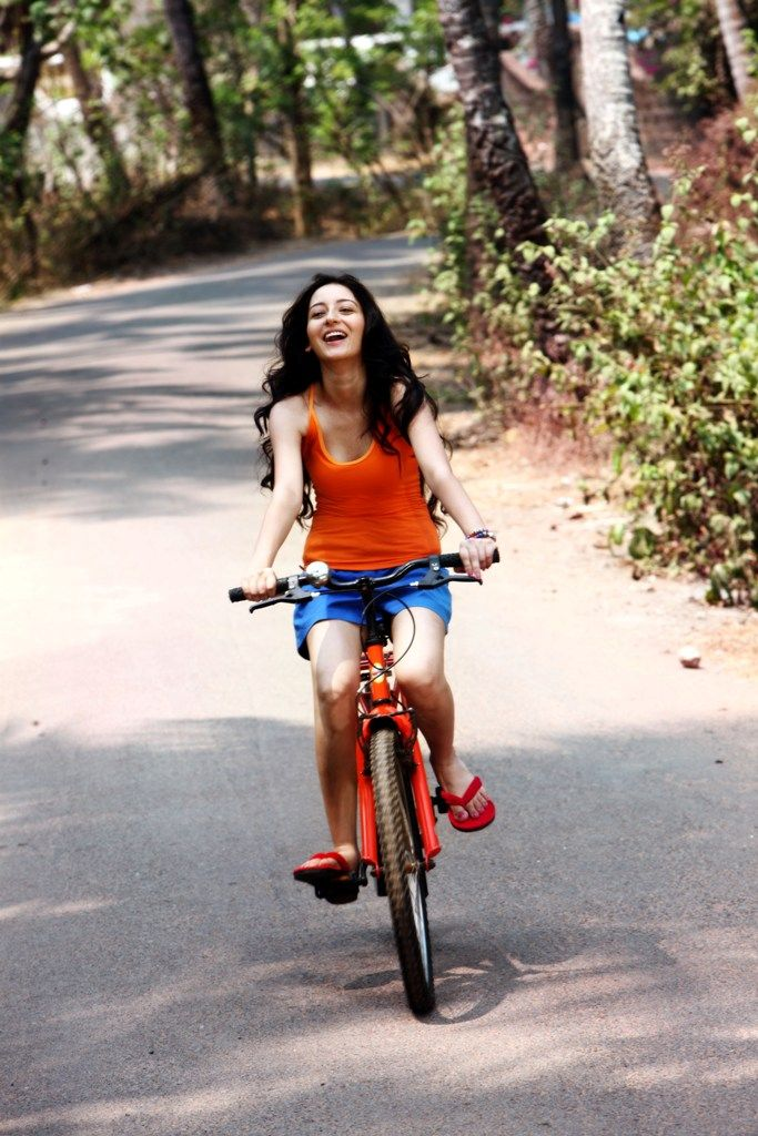 Cycle down the paths surrounded by nature and greenery #Goa