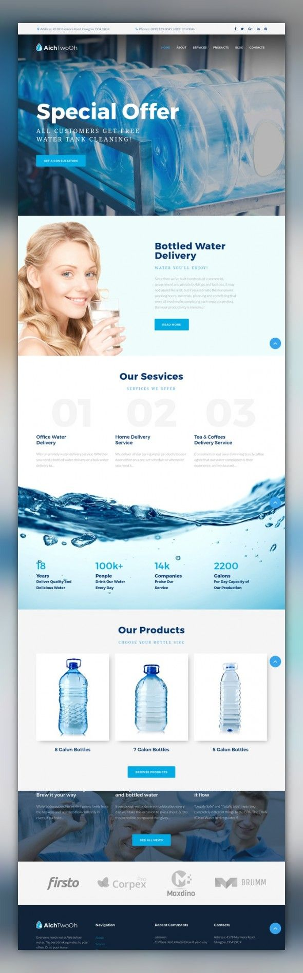 Water Delivery Service Moto CMS 3 Template CMS & Blog Templates, Moto CMS 3 Templates, Business & Services, Maintenance Services Templates, Delivery Services Templates Delivery Services Responsive Moto CMS 3 Template. Additional features, comprehensive documentation and stock photos are included.