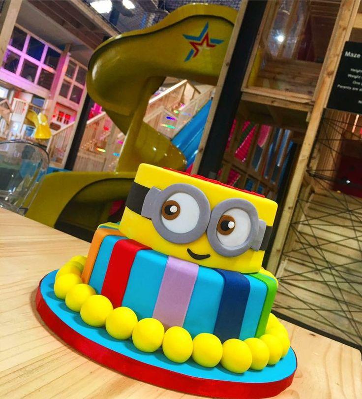 Minion Birthday cake @ The PlayStation  Tokai, Cape Town.  http://www.theplaystation.co.za https://twitter.com/PlayStation_za https://www.facebook.com/playstationtokai/ https://www.instagram.com/theplaystationza/