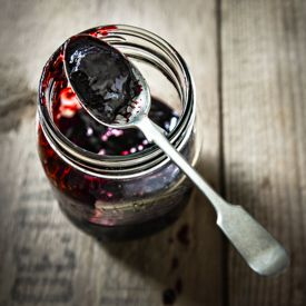 Being pip-free does not make this a true 'bramble jelly' but it's a very tasty seedless blackberry jam with a hint of lime.