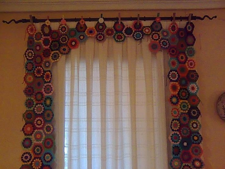 20 best images about crochet window treatments on ...